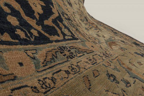 Antique Persian Tabriz Carpet BB4070