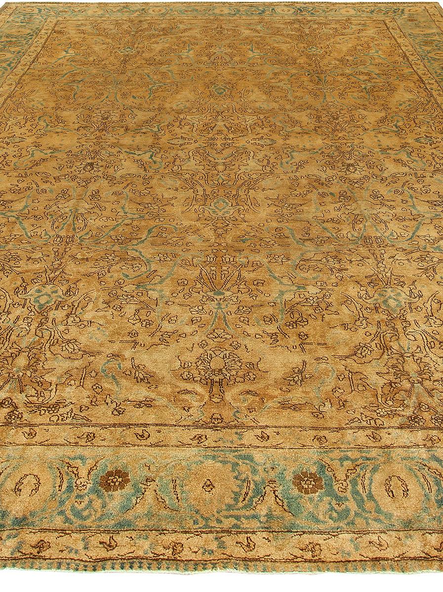 Vintage Persian Tabriz Rug BB3195