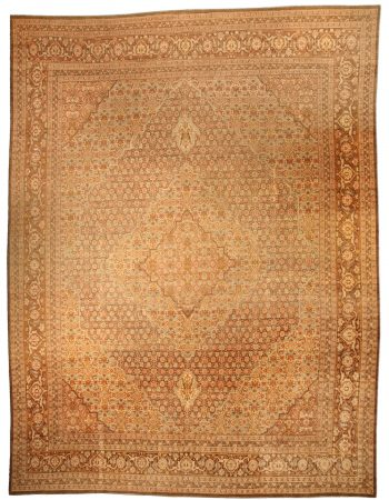 Antique Persian Tabriz Rug BB4105