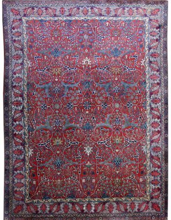 Antique Persian Teerã Rug BB2550