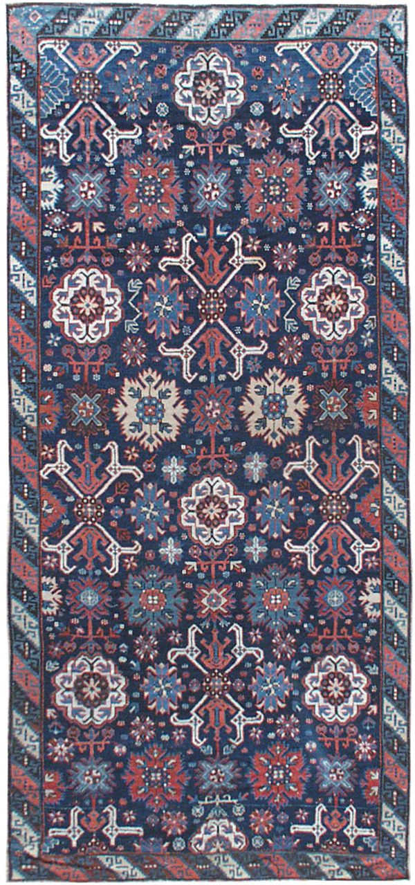 Antique Russian Karabagh runner BB0130