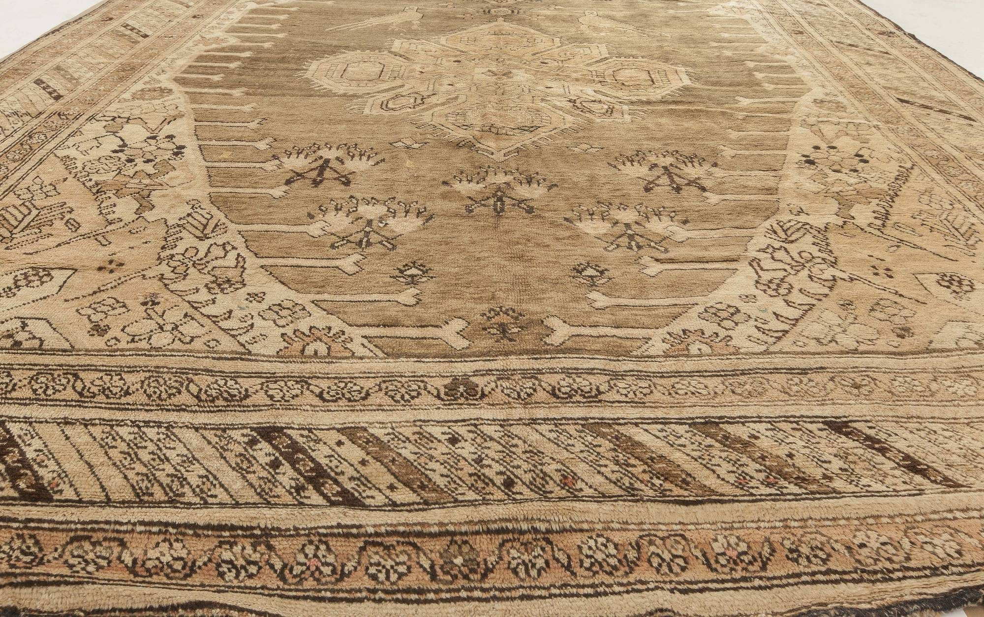 Antique Russian Karabagh wide runner BB4769