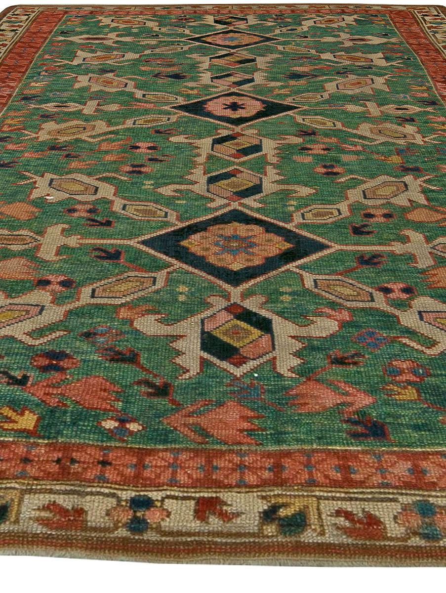 Caucasian Shirvan Antique Rug BB5904