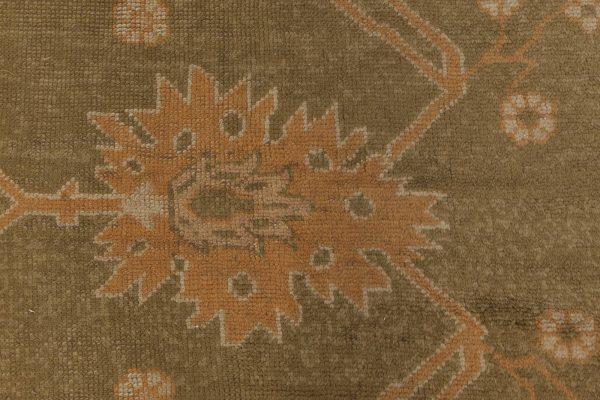 Vintage Turkish Oushak Rug BB3785