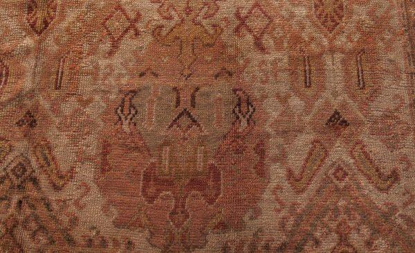 Vintage Turkish Oushak Carpet BB0427