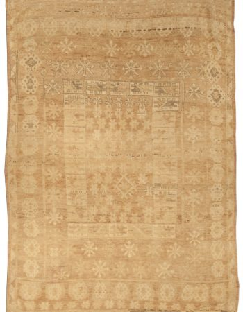 Antique Turkish Oushak Rug BB5000