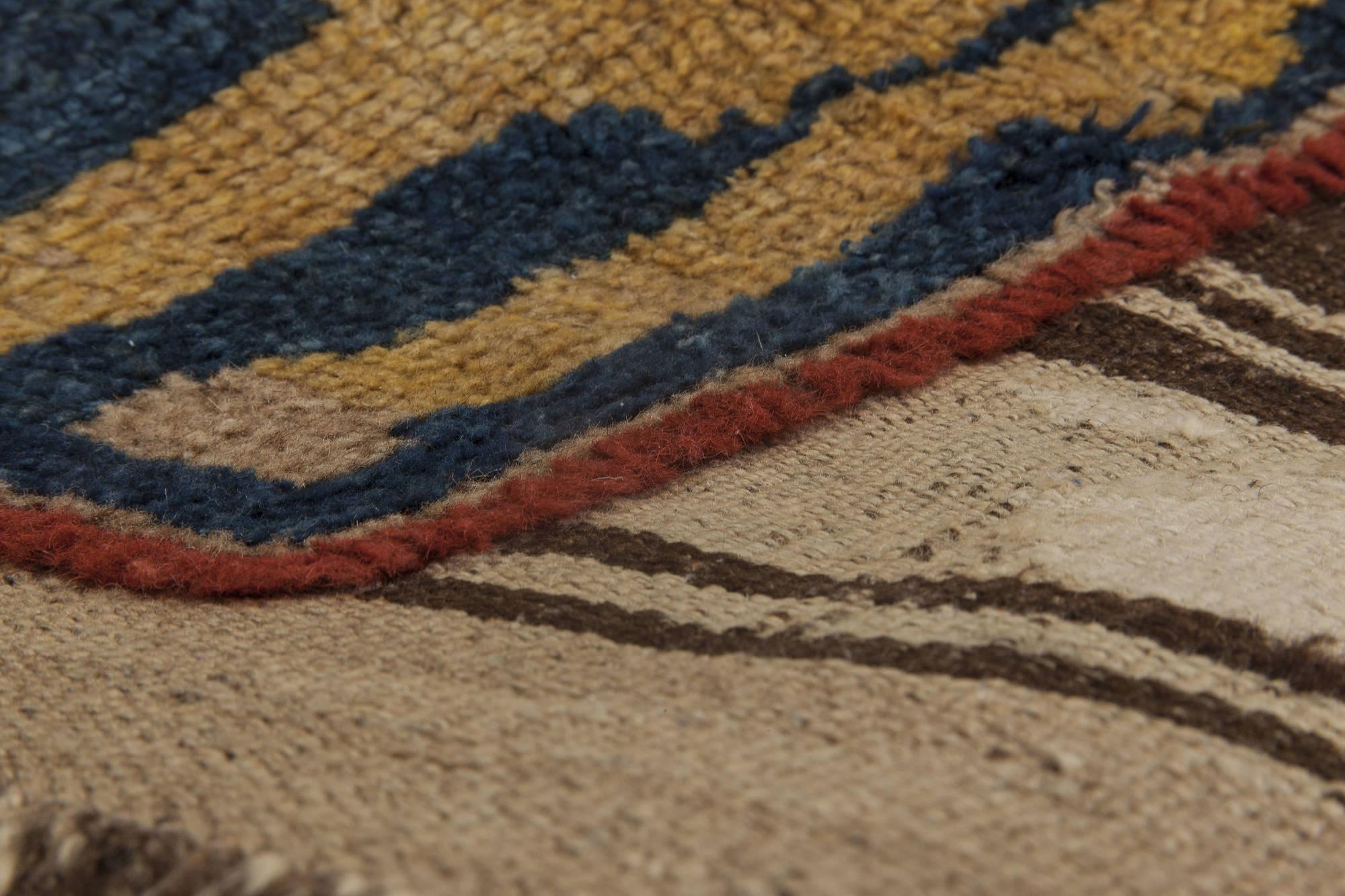 Antique Caucasian Carpet Bb6373 By Dlb