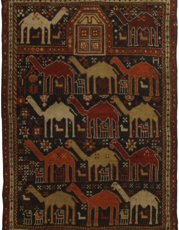 Antique Caucasian Shirvan BB5356