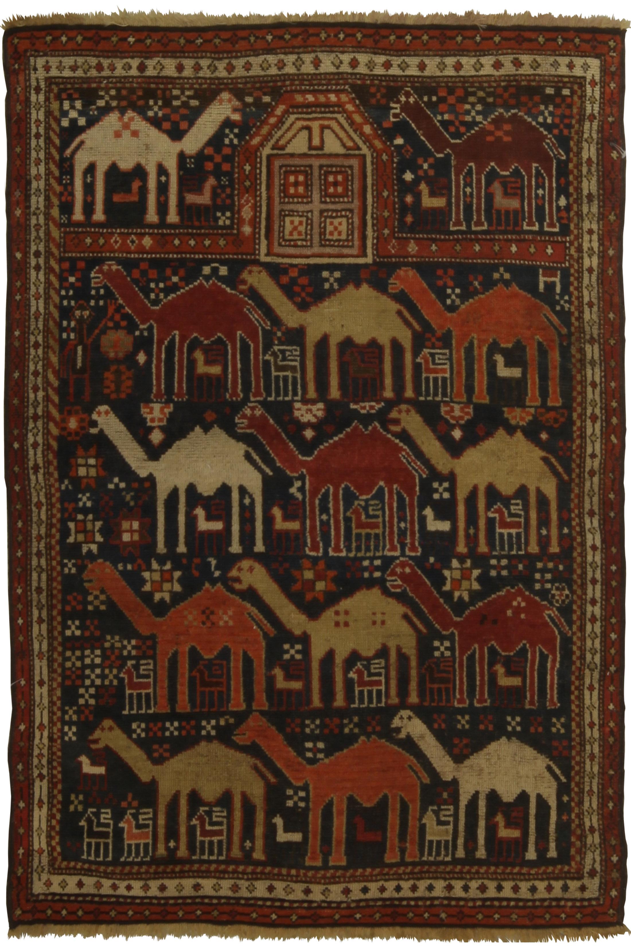 Antique Caucasian Shirvan BB5356