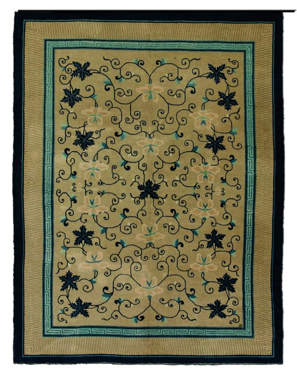 Antique Chinese Carpet BB3031