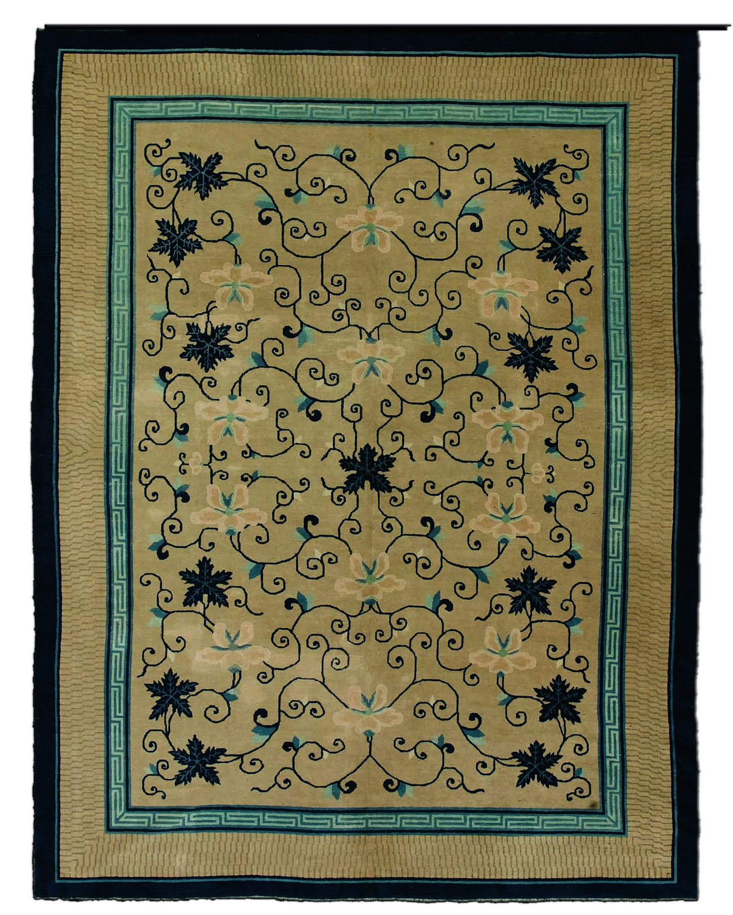 Antique Chinese Carpet BB3031