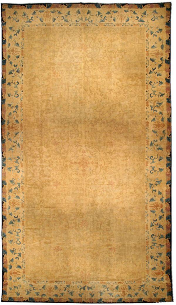 Vintage chinesische Teppich (Größe angepasst) BB4489