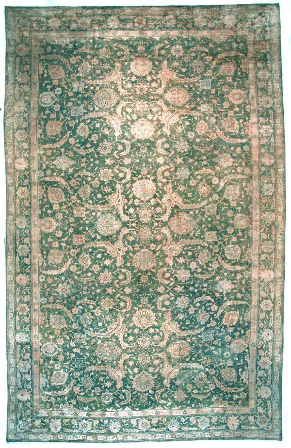 Übergroße Vintage chinesische Teppich BB2723
