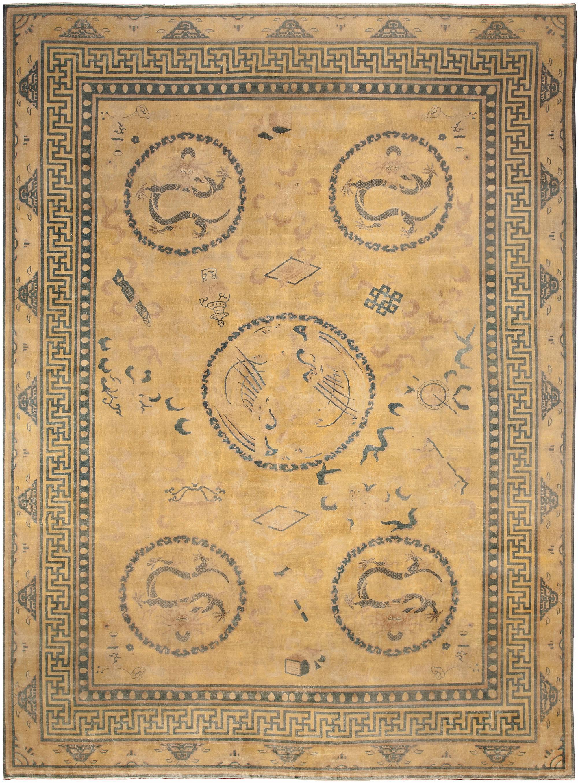 Vintage Chinese Carpet BB3807