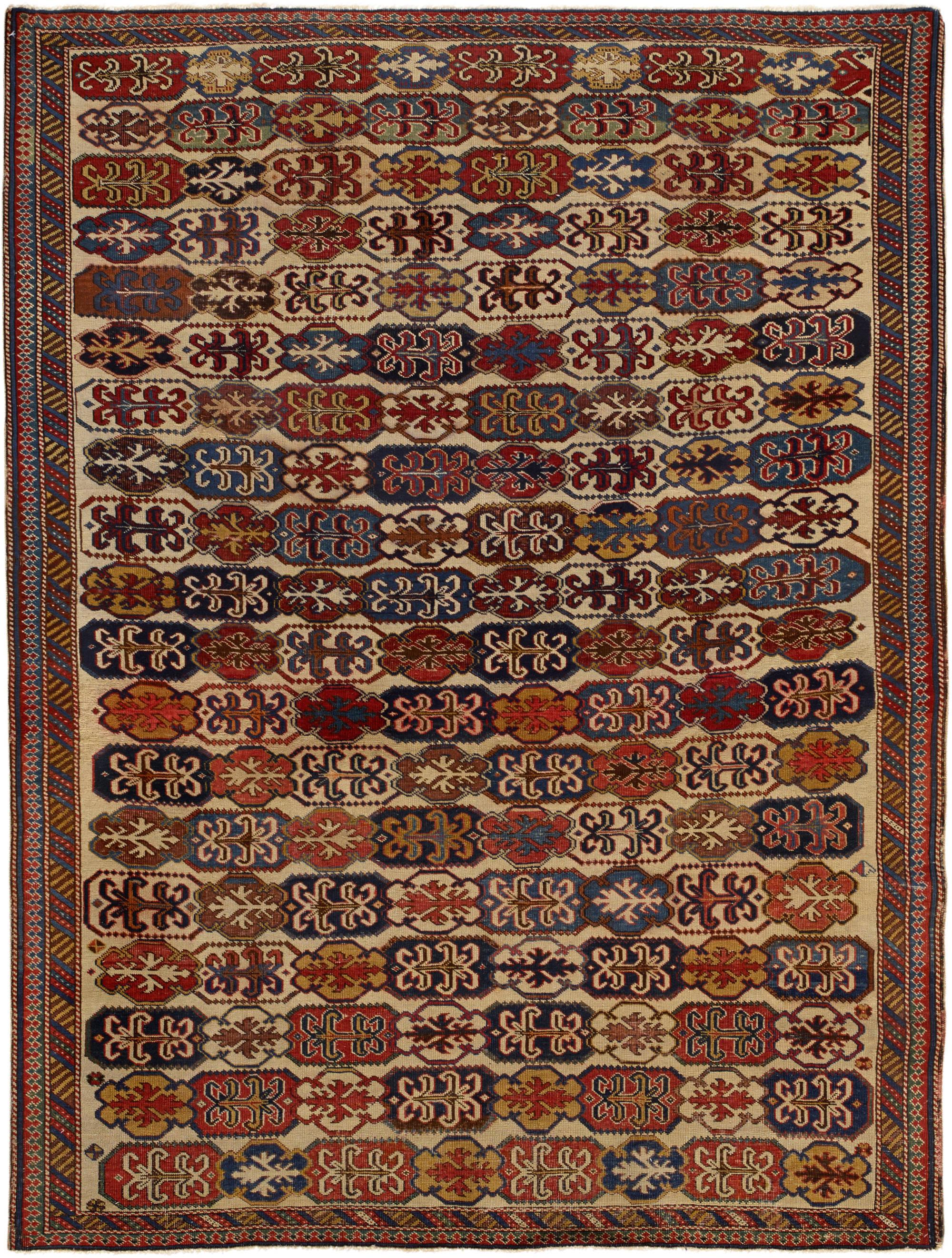 Antique Caucasian Shirvan BB5265