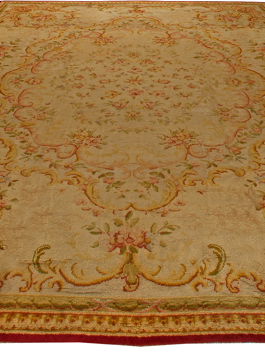 Oversized Savonnerie Antique Rug BB6129