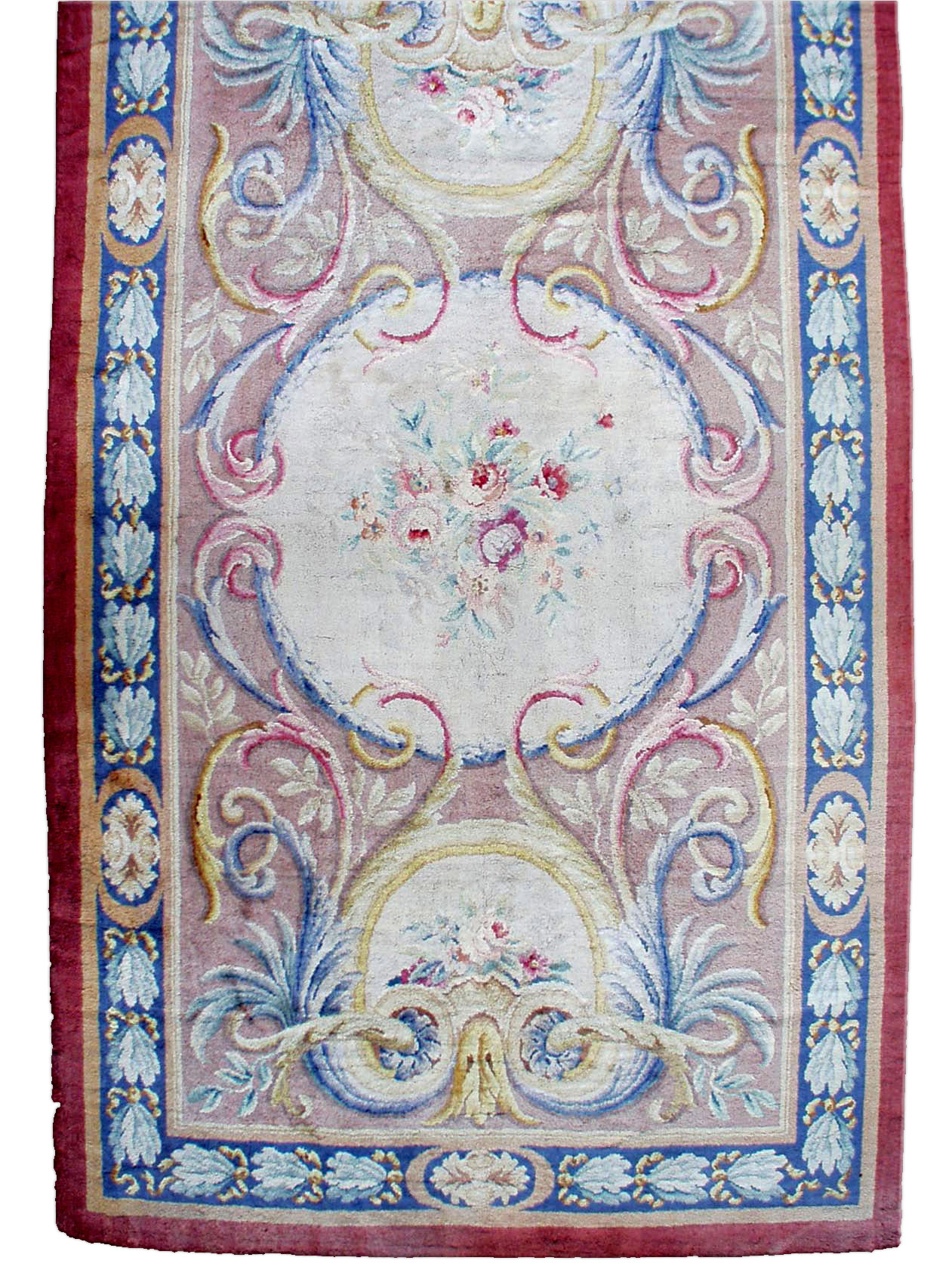 Antique French Savonnerie Carpet BB0844