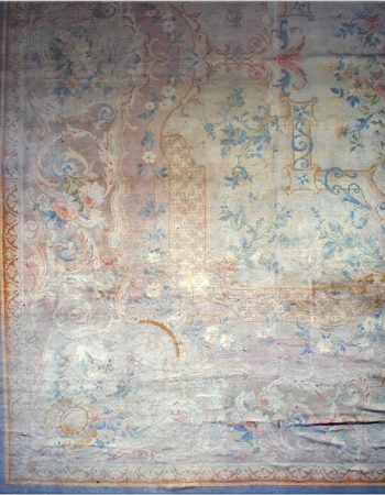 Antique Needlework Carpet BB4133
