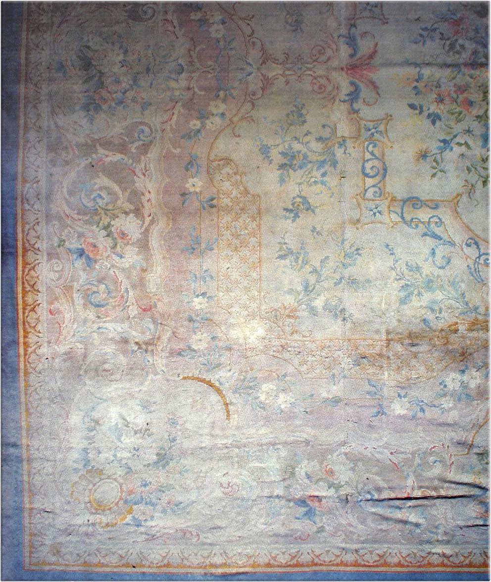 Antique Savonnerie Carpet BB1794