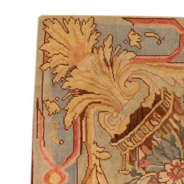 Fragmento Savonnerie tapete BB3936