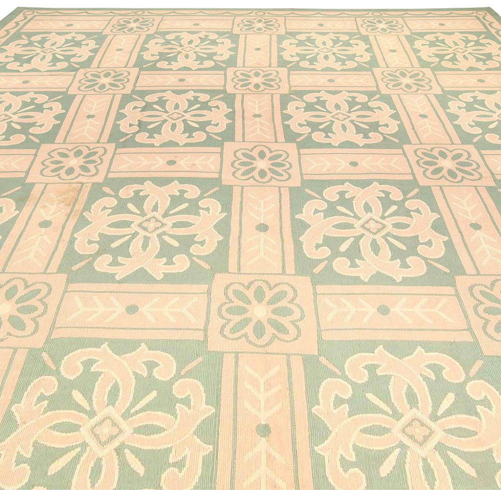 Antique French Aubusson Rug BB4183