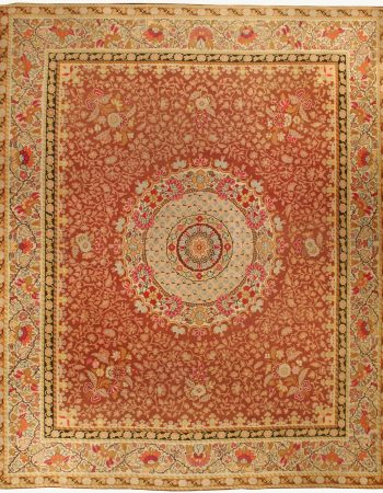 Antique French Aubusson Rug BB0449
