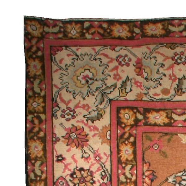 Antique English Axminster Rug (size adjusted) BB0015