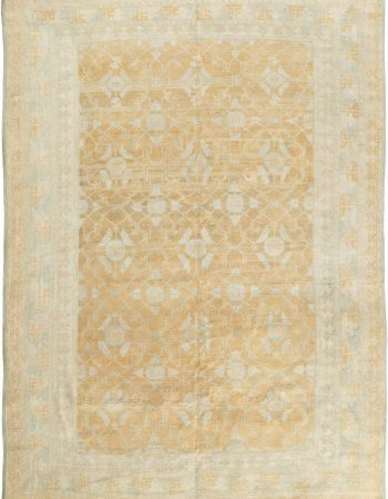 Antique Indian Agra Carpet BB3624