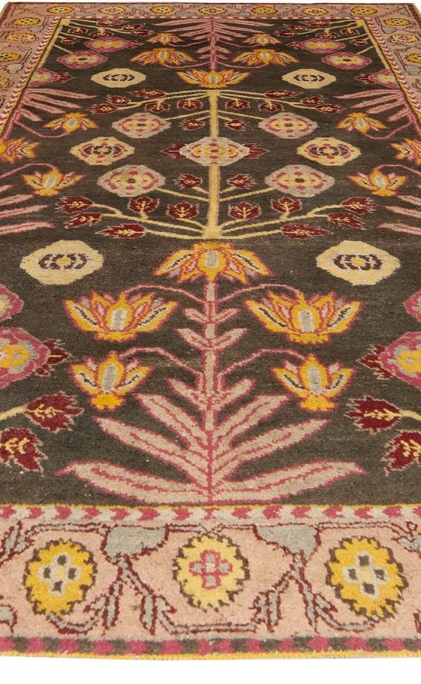 Antique Indian Agra Rug BB4935