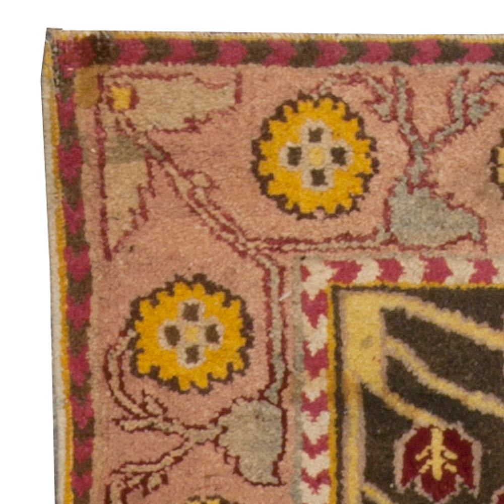 Antique Indian Agra Rug BB4935 By Doris Leslie Blau