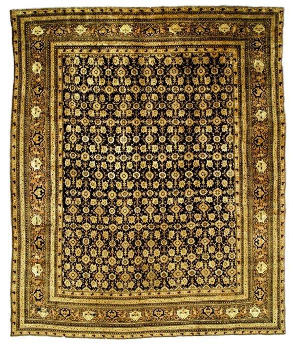 Vintage Indischer Agra Teppich BB0487