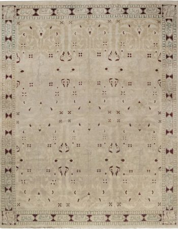 Antique Indian Agra Rug BB4980