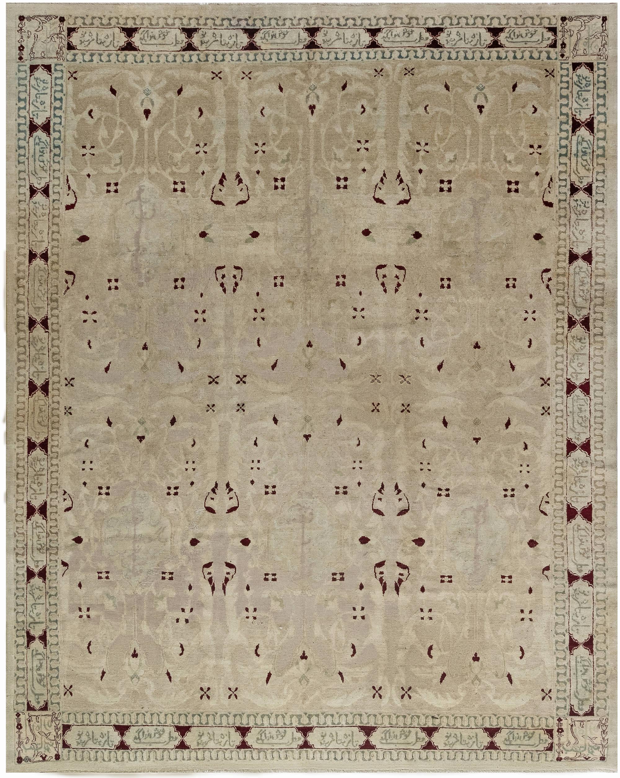 Antique Indian Agra Carpet BB2840