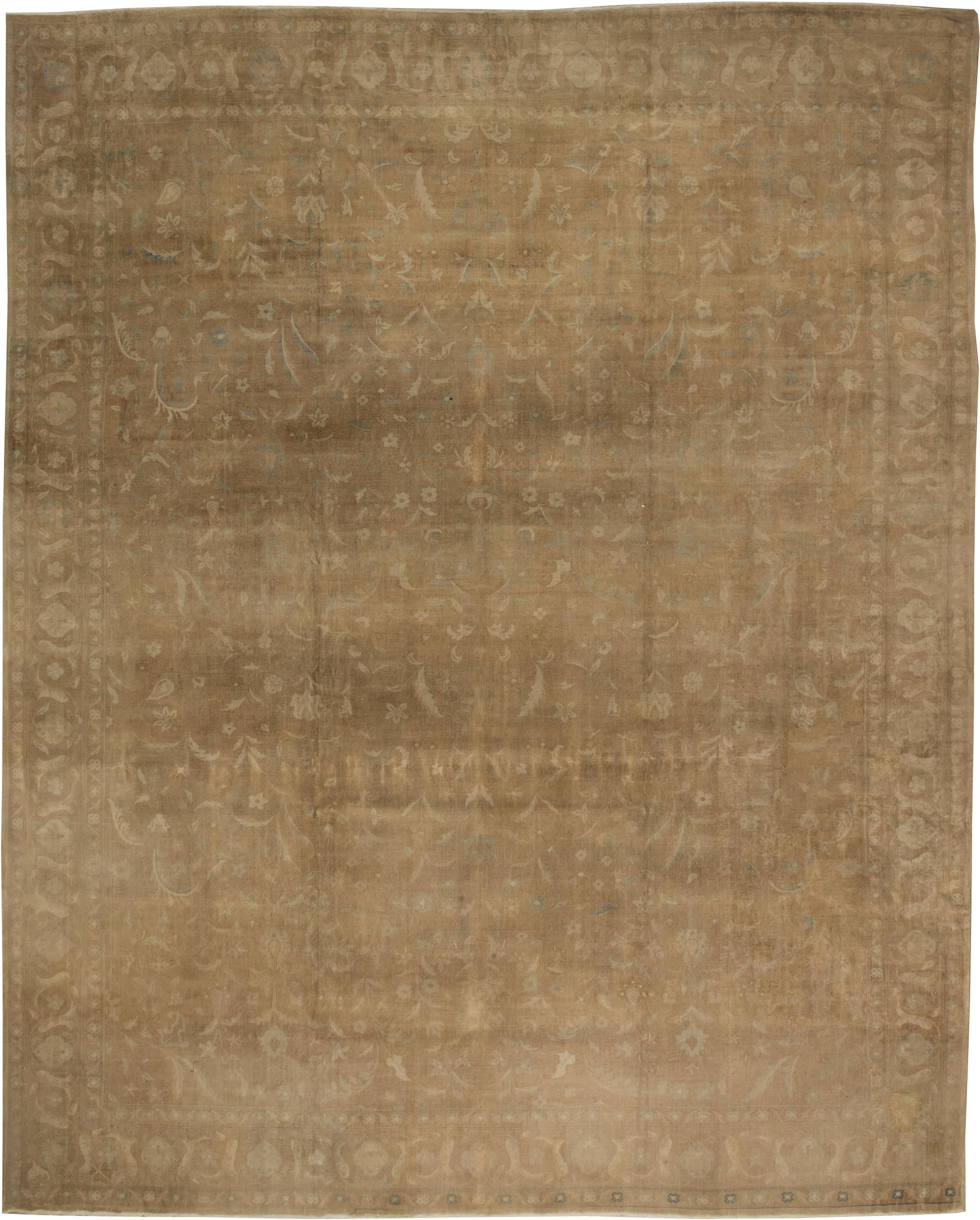 Large Indian Antique Rug BB5917