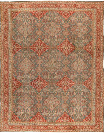 Antique Turkish Oushak Rug BB6770