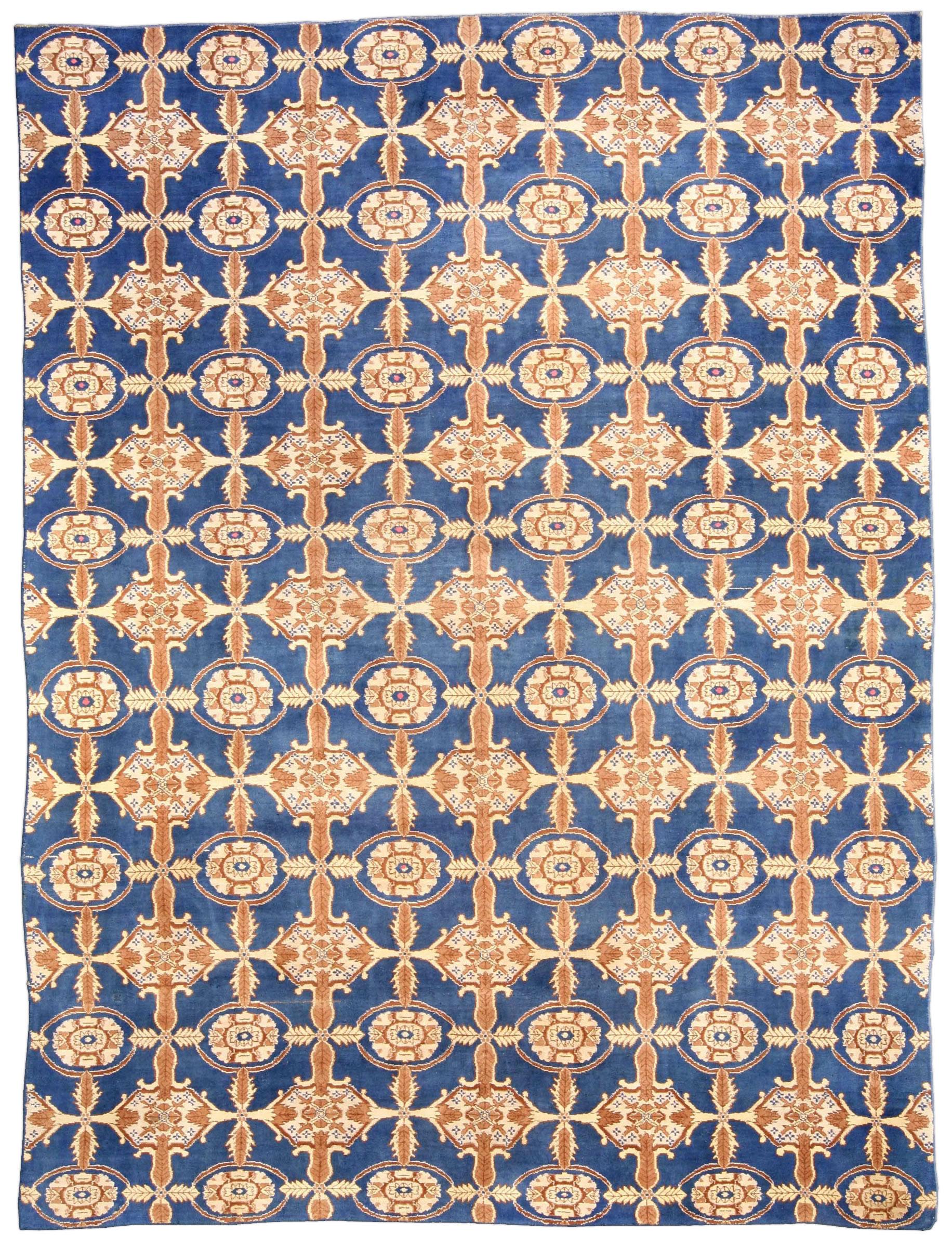 Antique Cotton Agra Carpet BB3701