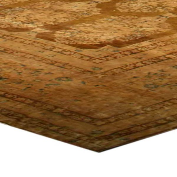 Oversized Antique Indian Rug BB2939