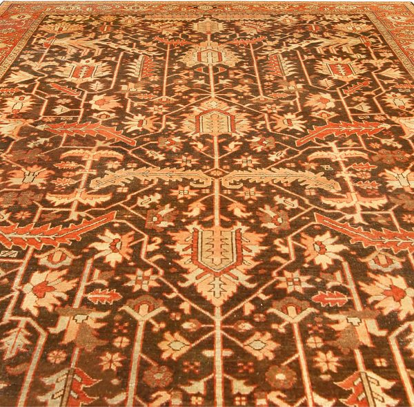 Antique Persian Heriz Rug BB4542