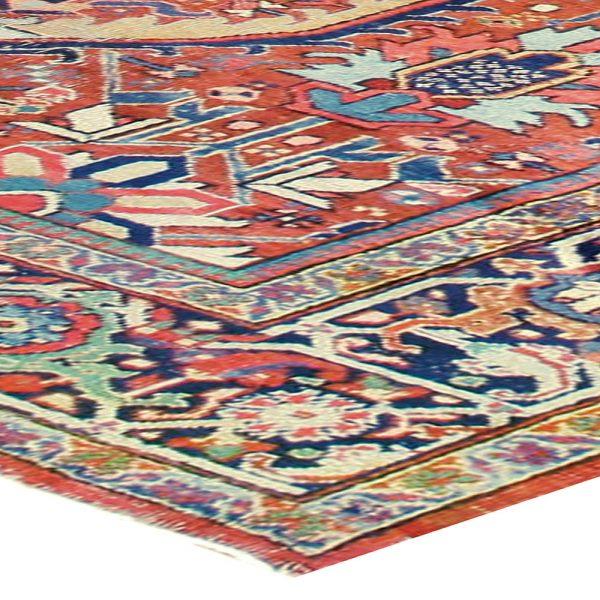 Antique Persian Heriz Carpet BB4021
