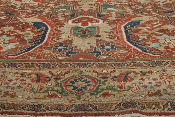 Persian Heriz Carpet BB6368