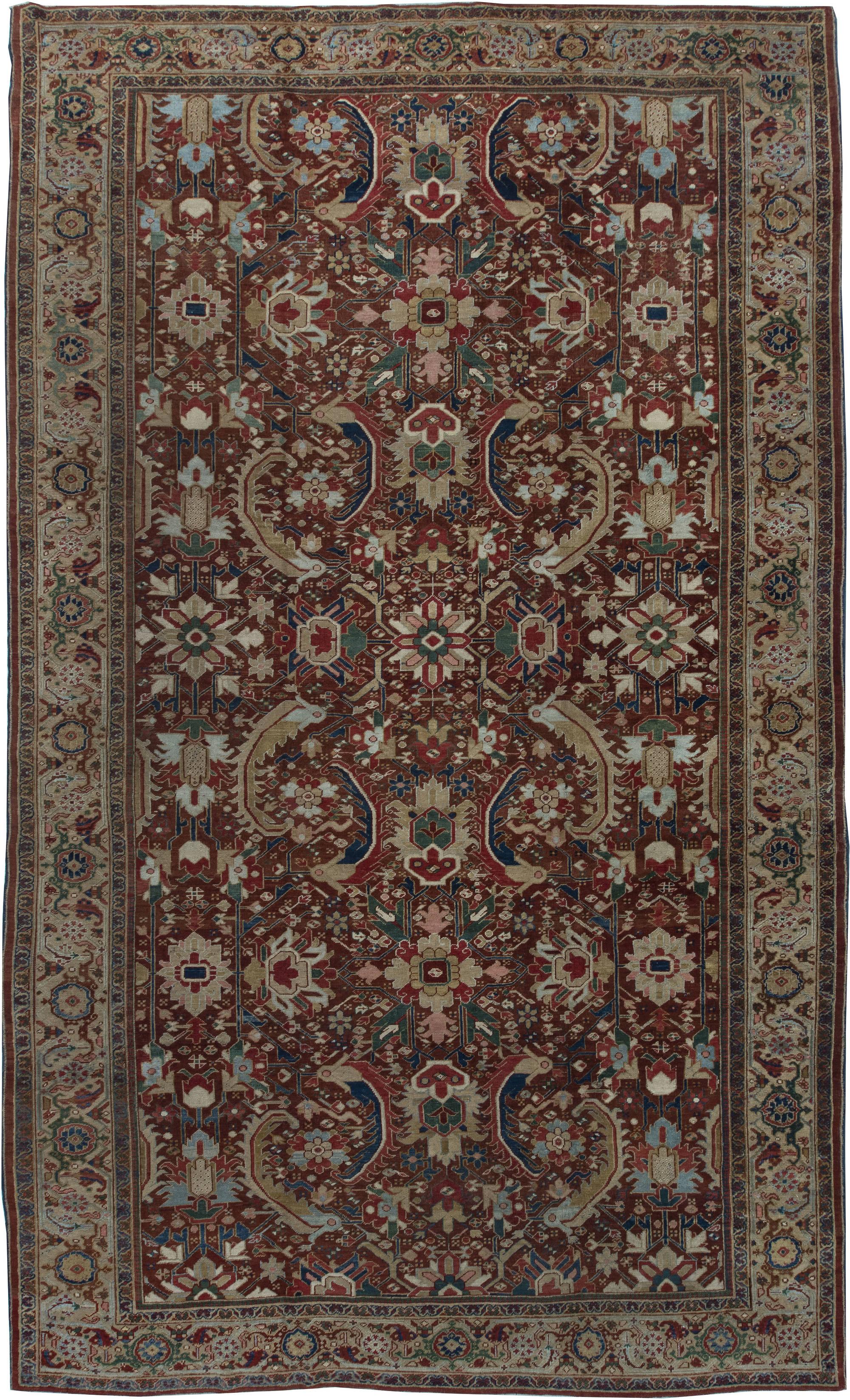 Persian Heriz Carpet BB6368