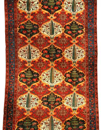 Antique Persian Bakhtiari Carpet BB3460