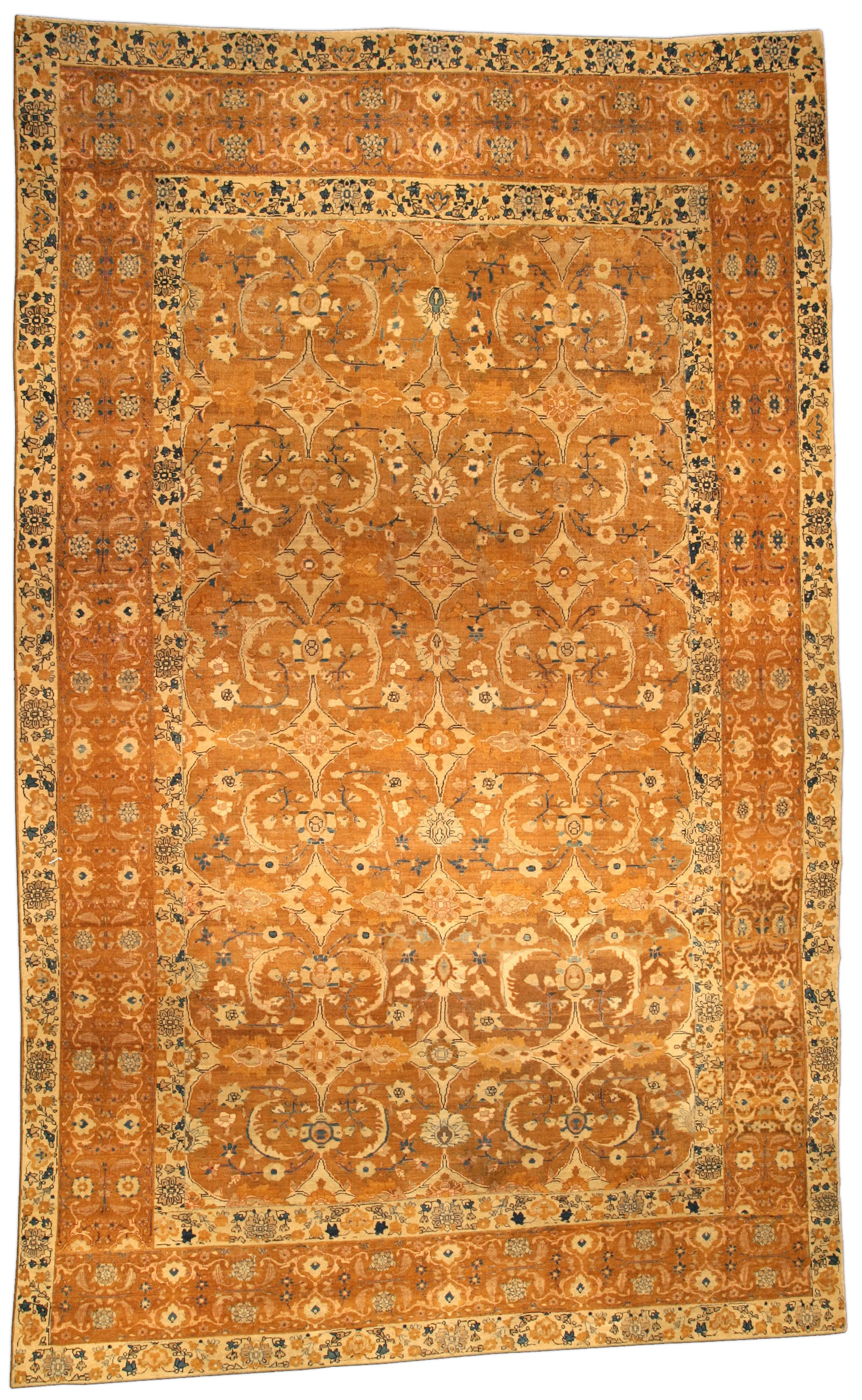 Vintage Persian Bidjar Rug BB4296