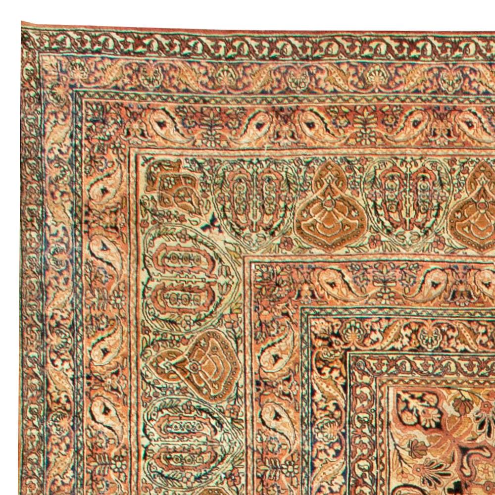 Over-sized Vintage Persian Kirman Rug BB6045