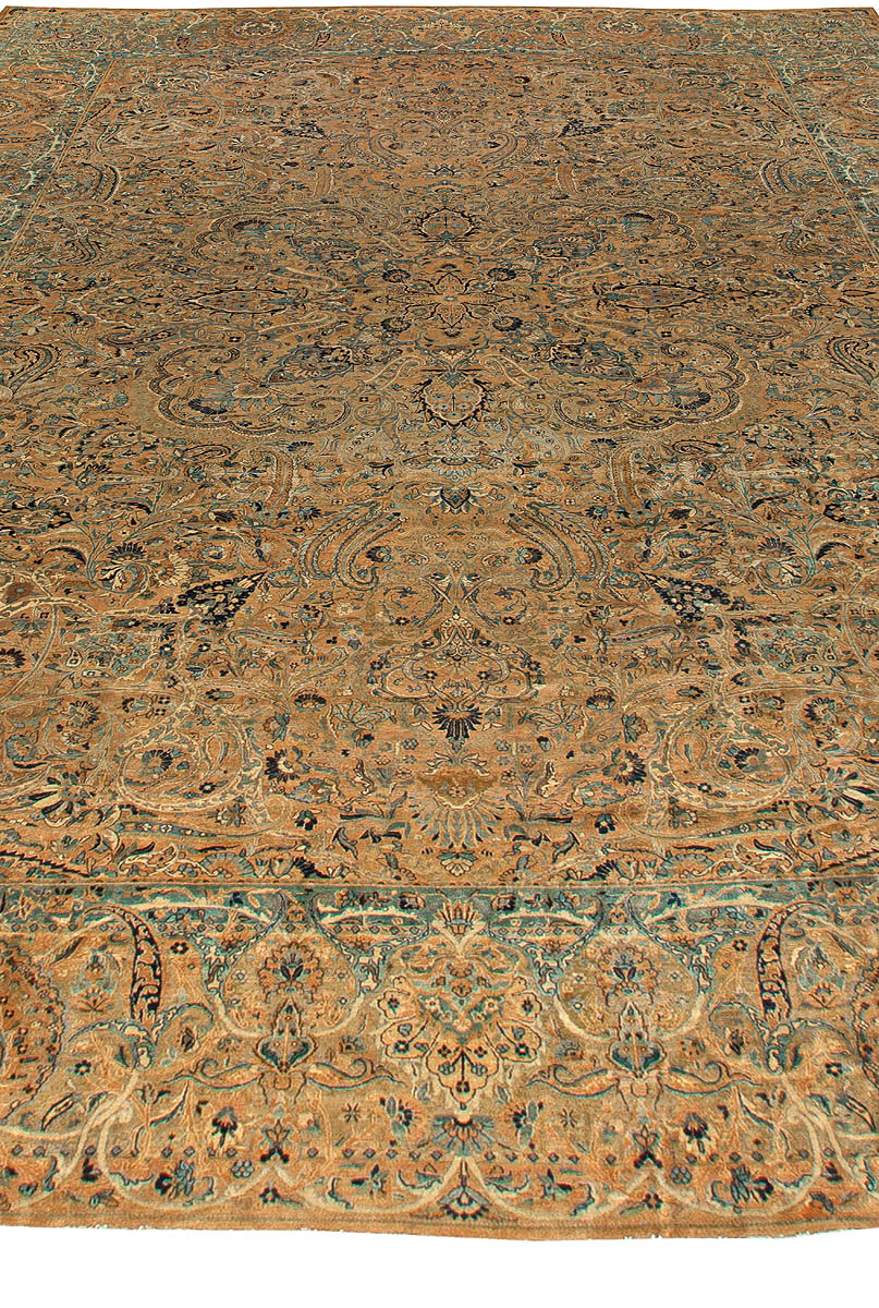 Antique Persian Kirman Rug BB5929