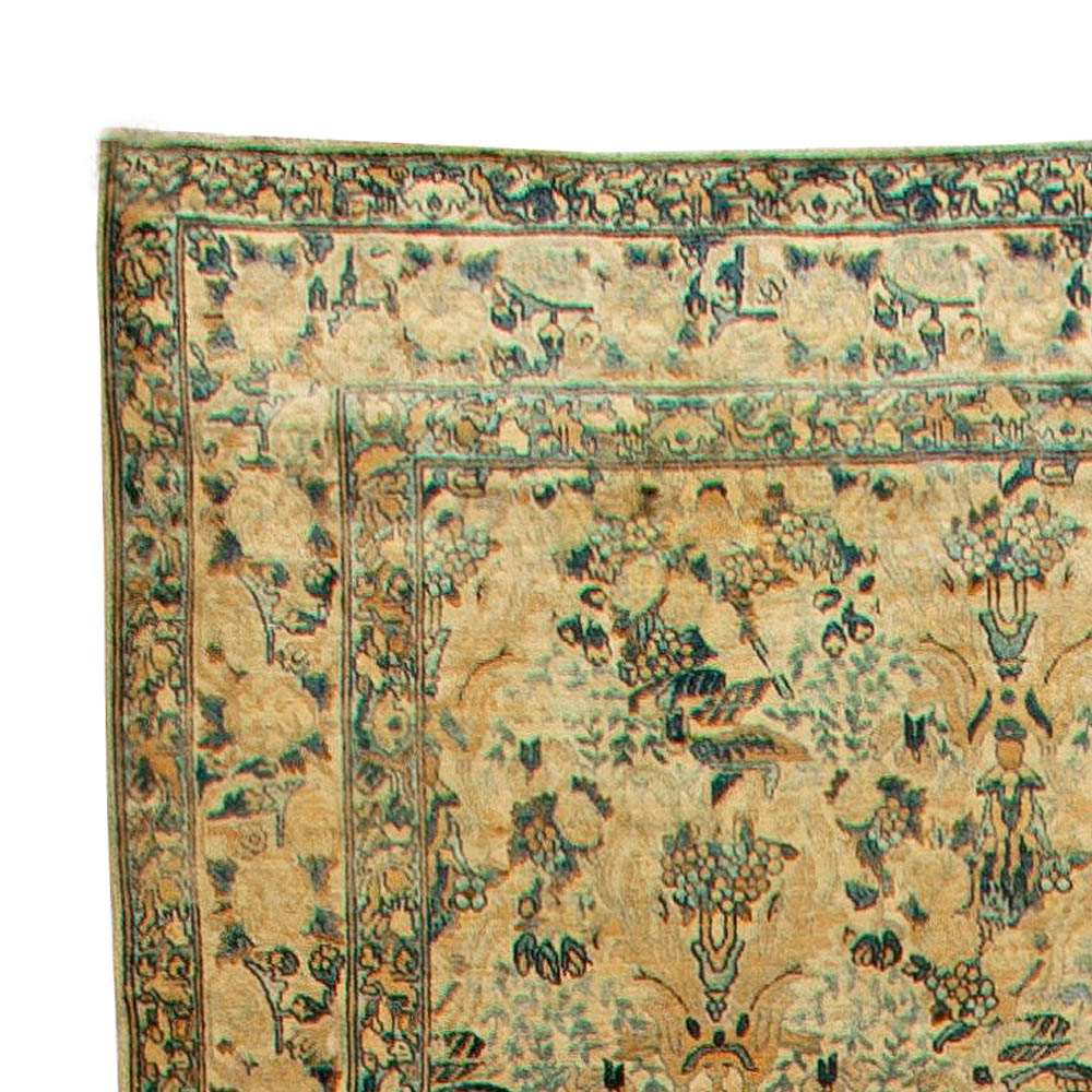 Antique Persian Kirman Rug BB5928