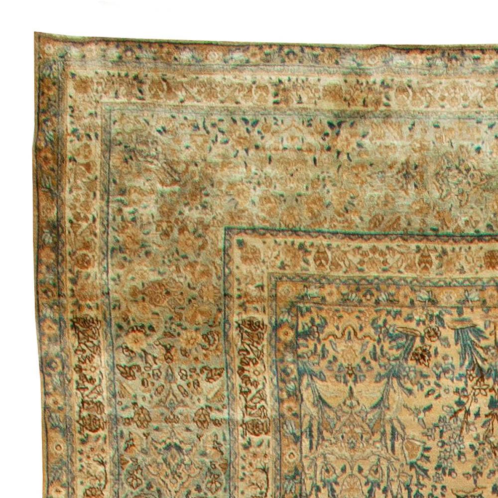 Antique Persian Kirman Rug BB5980