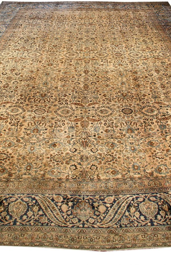 Oversized Antique Persian Kirman Rug (size adjusted) BB0167