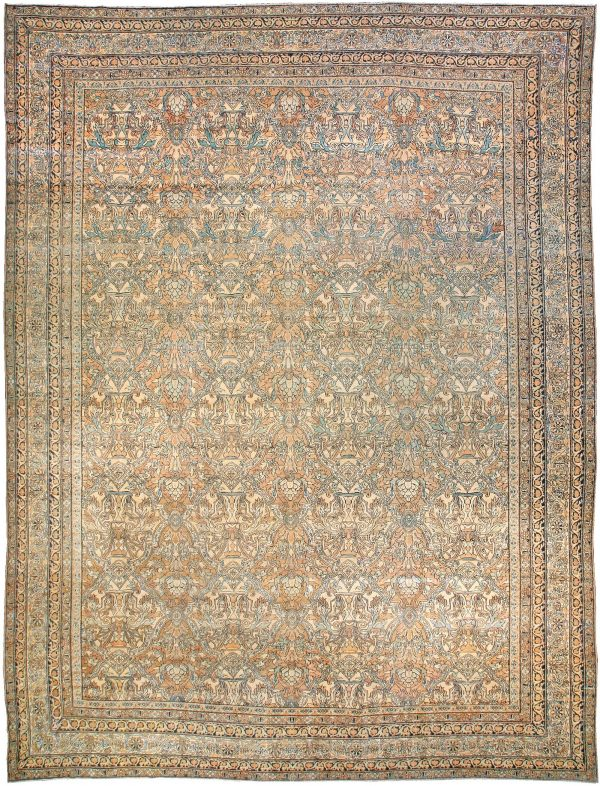 Vintage Persian Kirman Rug BB2249