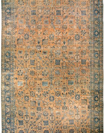 Antique Persian Kirman Carpet BB3565